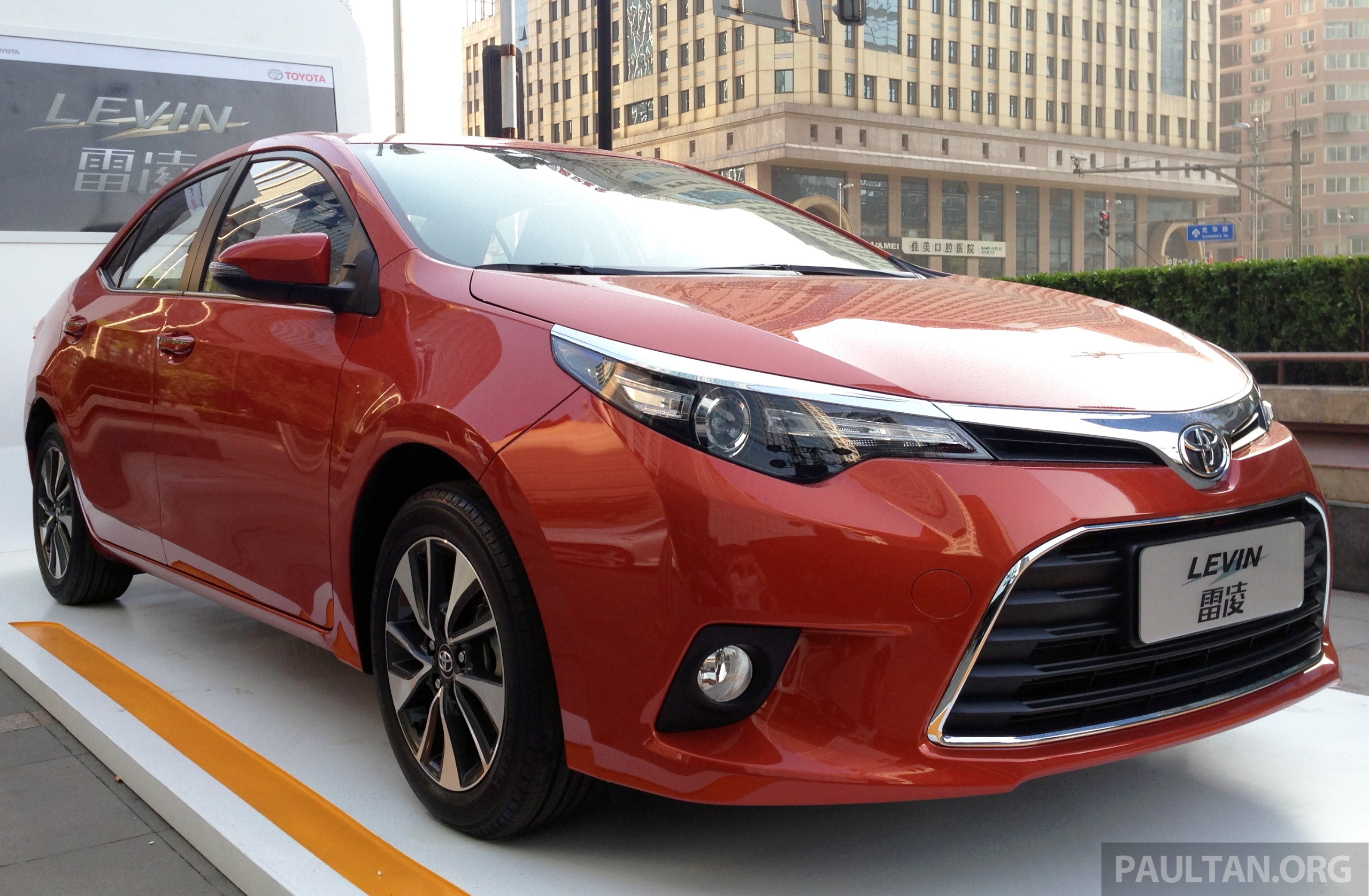 toyota corolla levin hybrids to be made in china. Black Bedroom Furniture Sets. Home Design Ideas