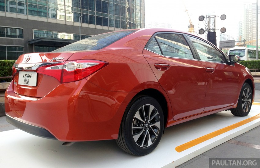 GALLERY: Toyota Levin for the Chinese market Image #242422