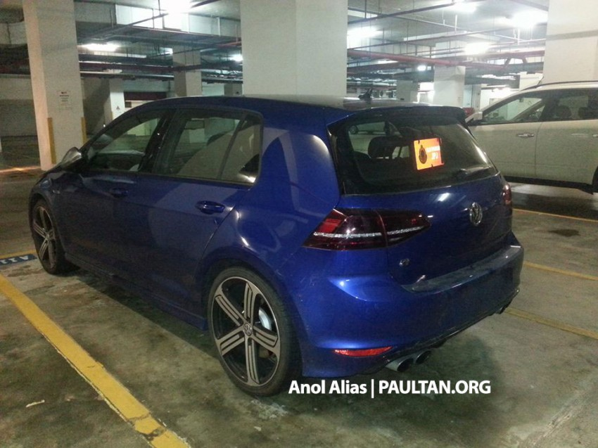 SPIED: Volkswagen Golf R Mk7 seen at JPJ Putrajaya Image #244898
