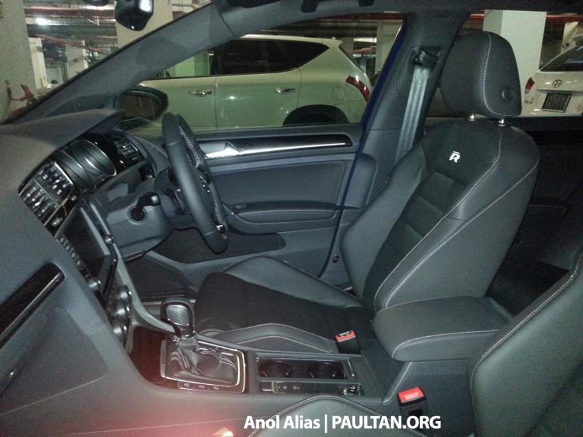 SPIED: Volkswagen Golf R Mk7 seen at JPJ Putrajaya Image #244900