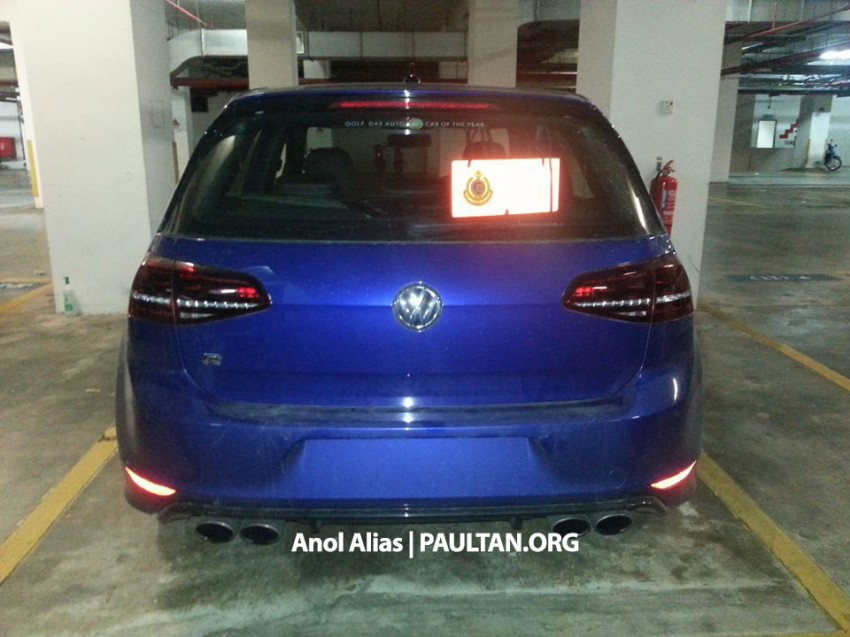SPIED: Volkswagen Golf R Mk7 seen at JPJ Putrajaya Image #244902