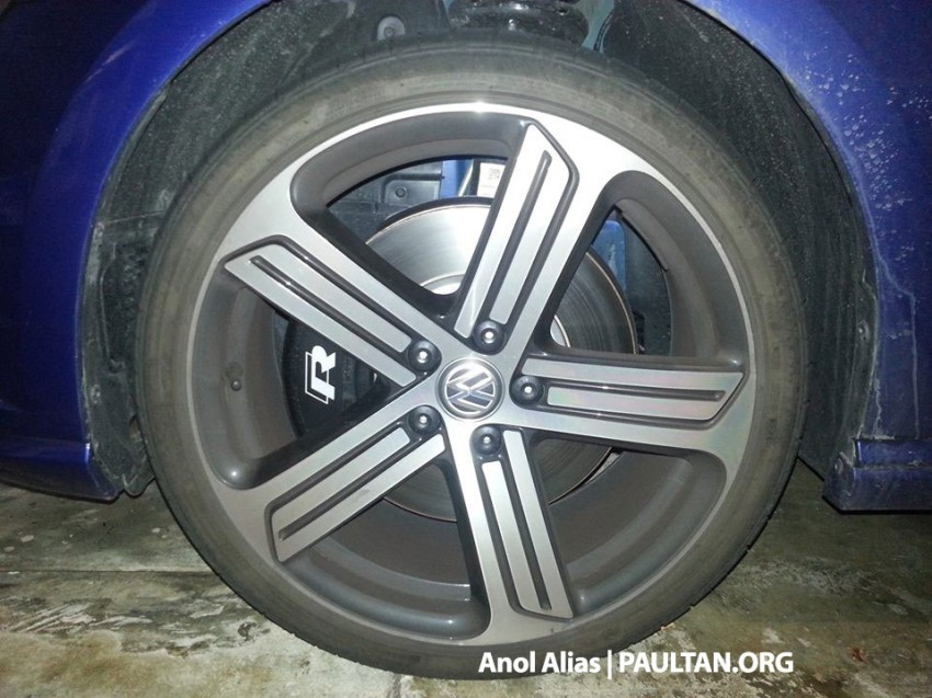 SPIED: Volkswagen Golf R Mk7 seen at JPJ Putrajaya Image #244903