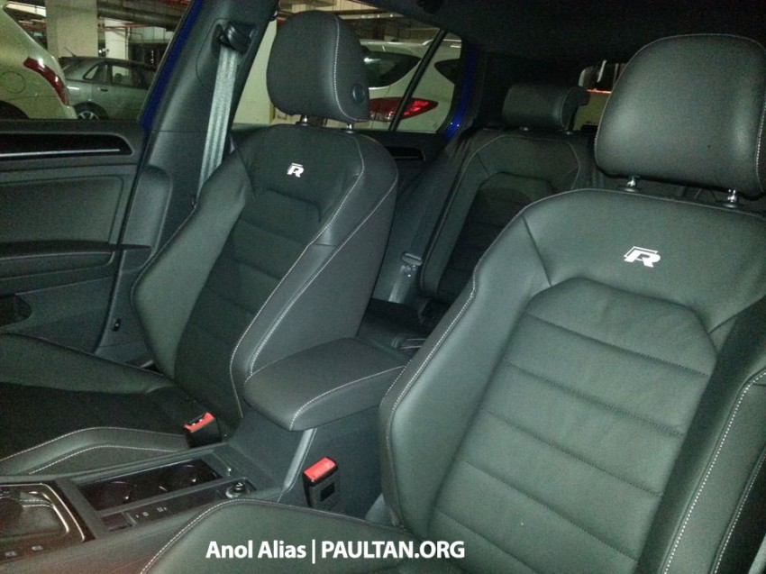SPIED: Volkswagen Golf R Mk7 seen at JPJ Putrajaya Image #244904