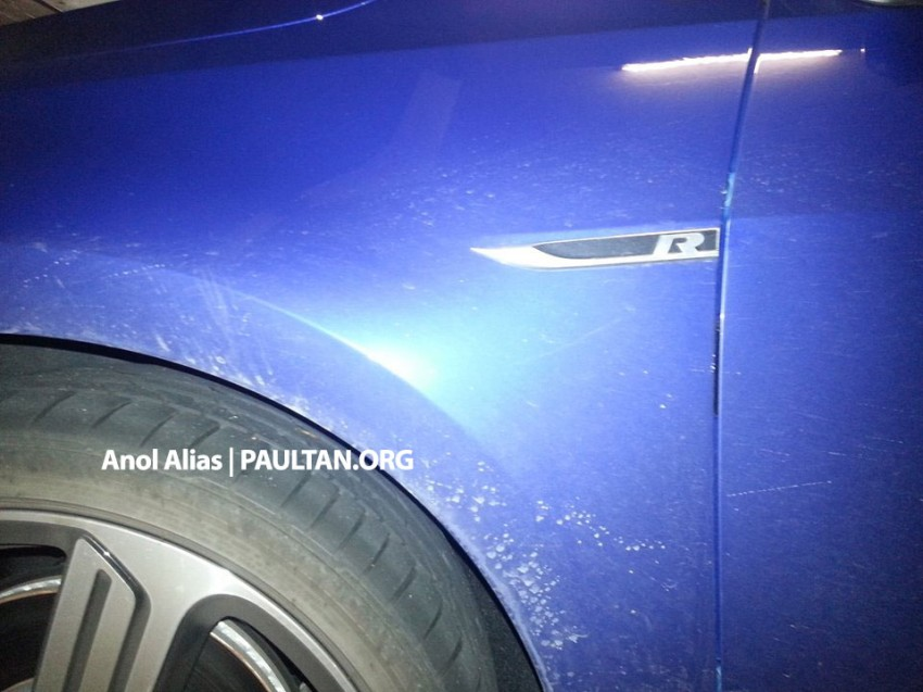 SPIED: Volkswagen Golf R Mk7 seen at JPJ Putrajaya Image #244906