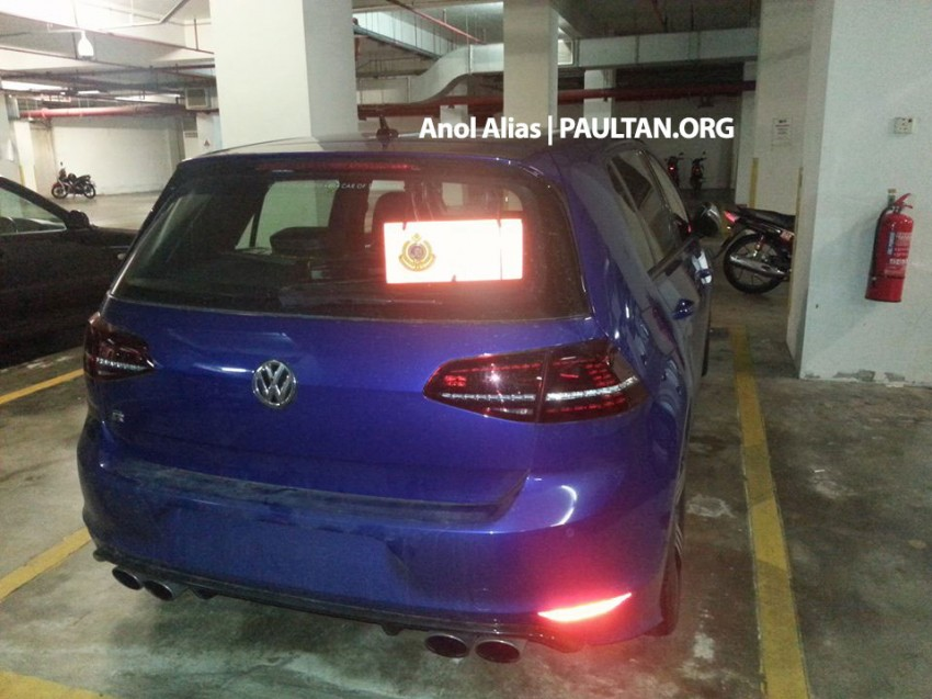 SPIED: Volkswagen Golf R Mk7 seen at JPJ Putrajaya Image #244907