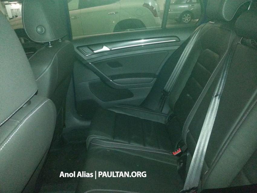SPIED: Volkswagen Golf R Mk7 seen at JPJ Putrajaya Image #244909