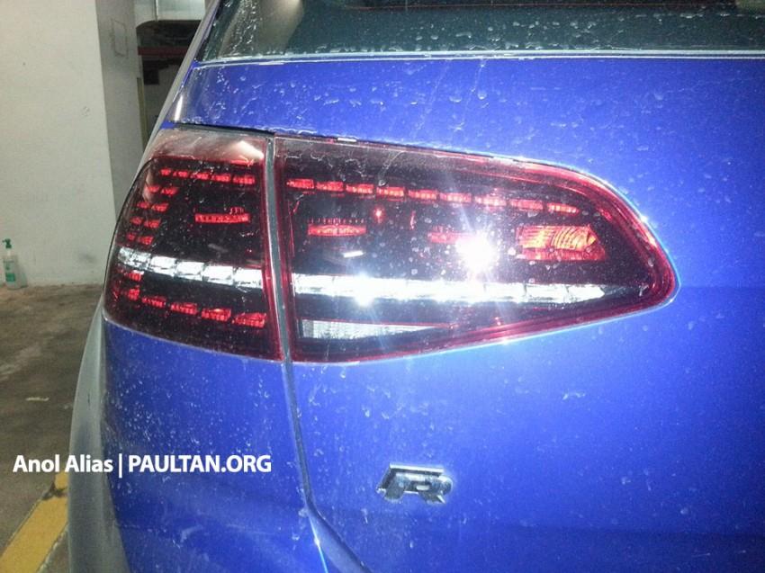 SPIED: Volkswagen Golf R Mk7 seen at JPJ Putrajaya Image #244910
