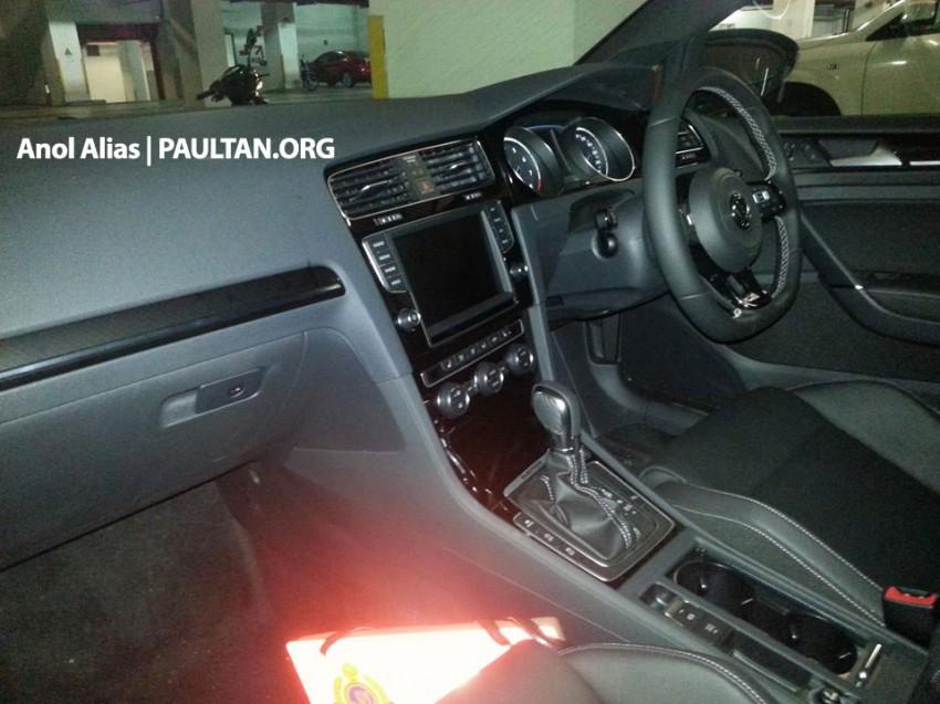 SPIED: Volkswagen Golf R Mk7 seen at JPJ Putrajaya Image #244912