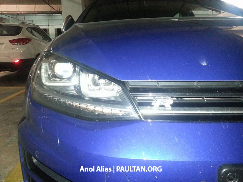 SPIED: Volkswagen Golf R Mk7 seen at JPJ Putrajaya Image #244914