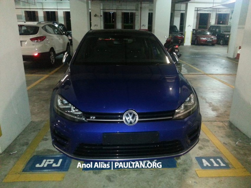 SPIED: Volkswagen Golf R Mk7 seen at JPJ Putrajaya Image #244916