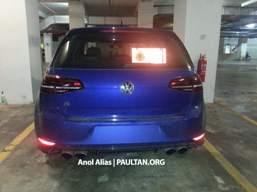 SPIED: Volkswagen Golf R Mk7 seen at JPJ Putrajaya Image #244918