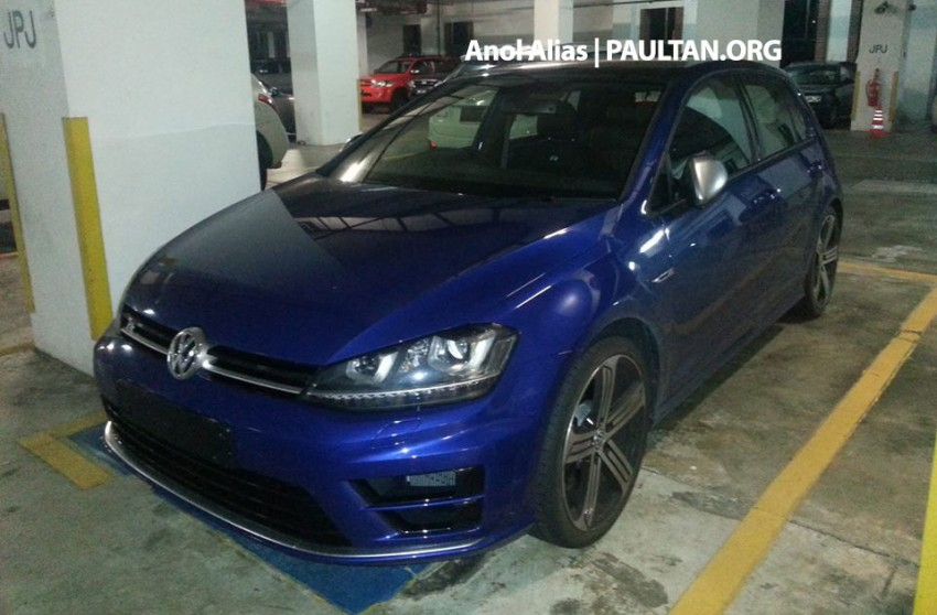 SPIED: Volkswagen Golf R Mk7 seen at JPJ Putrajaya Image #244922