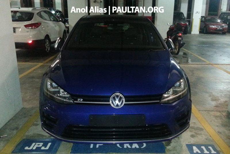 SPIED: Volkswagen Golf R Mk7 seen at JPJ Putrajaya Image #244923