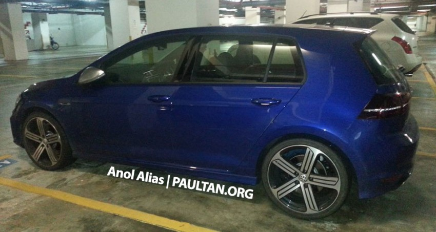 SPIED: Volkswagen Golf R Mk7 seen at JPJ Putrajaya Image #244924