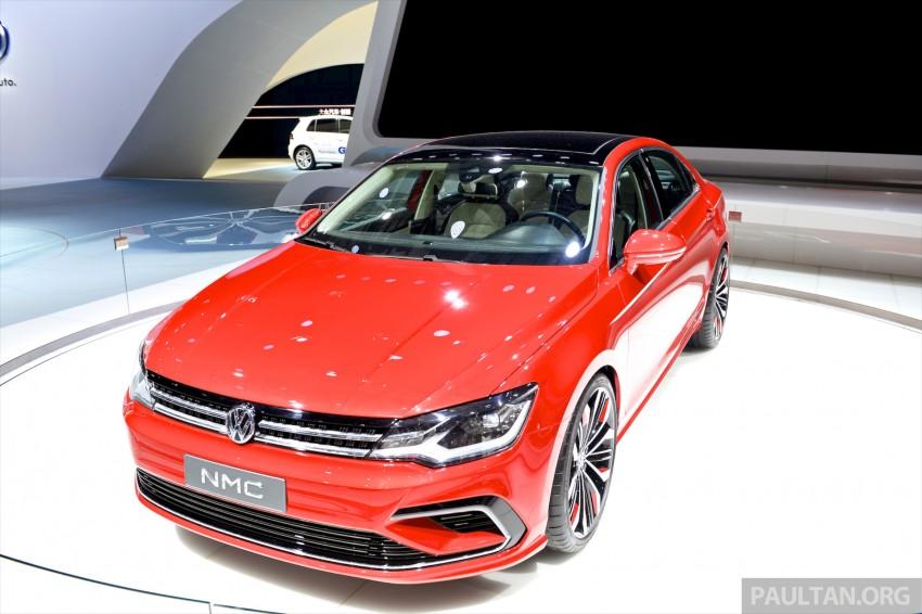 Volkswagen New Midsize Coupe Concept Is A Junior Cc Paul
