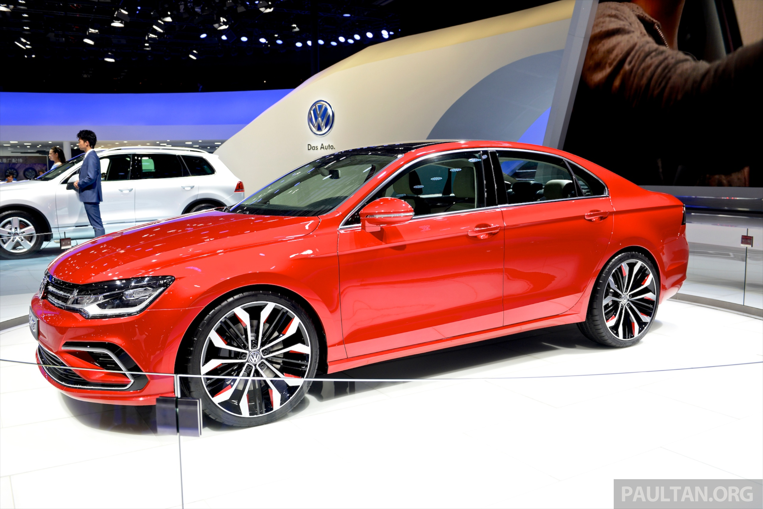 Volkswagen New Midsize Coupe Concept Is A Junior Cc Image