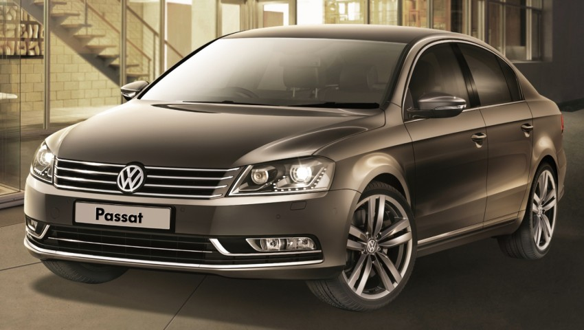Volkswagen Passat updated with more kit, RM171k Image #240474