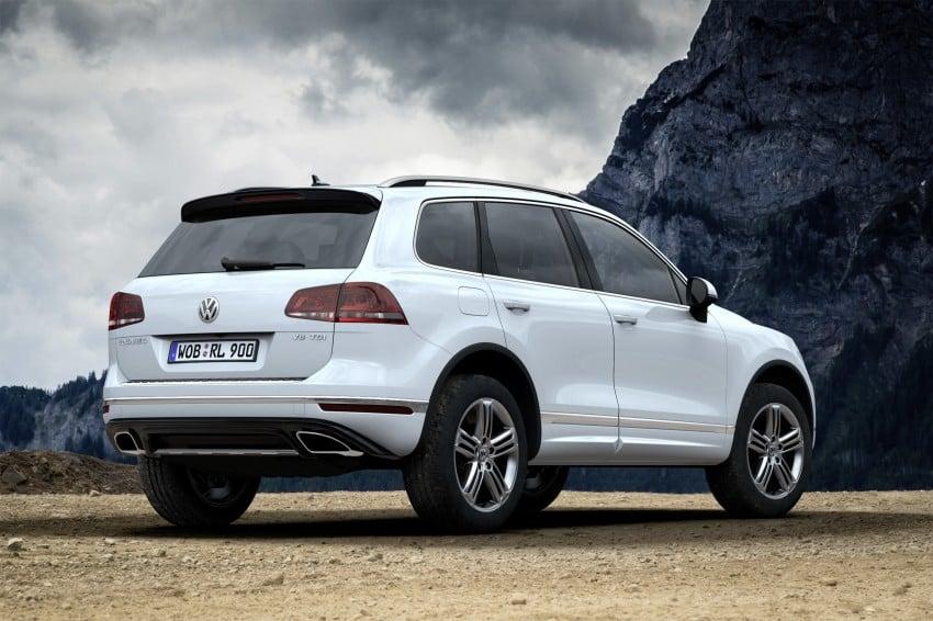 Volkswagen Touareg: second-gen facelift for Beijing Image #272205