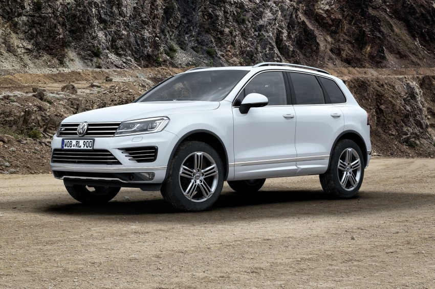 Volkswagen Touareg: second-gen facelift for Beijing Image #272207