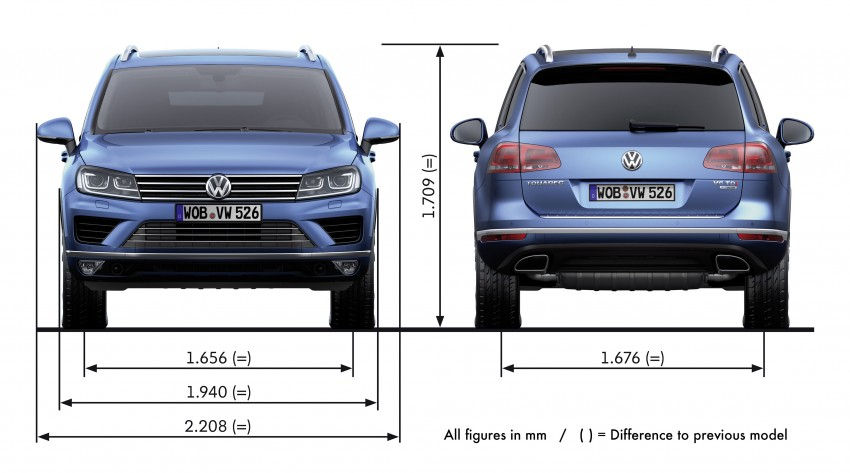 Volkswagen Touareg: second-gen facelift for Beijing Image #272211