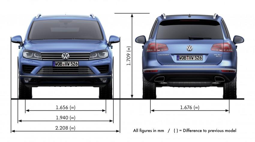 Volkswagen Touareg: second-gen facelift for Beijing Image #272211