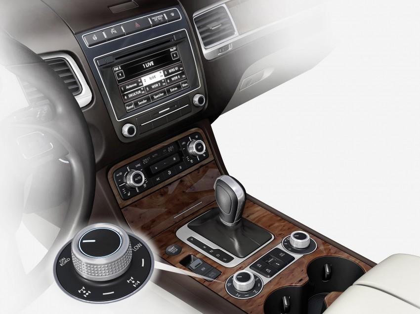 Volkswagen Touareg: second-gen facelift for Beijing Image #272221