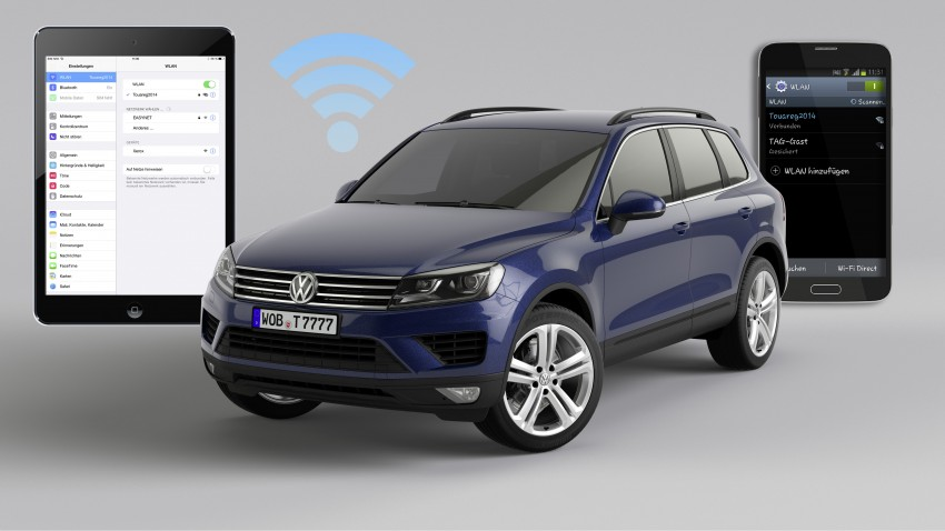 Volkswagen Touareg: second-gen facelift for Beijing Image #272223