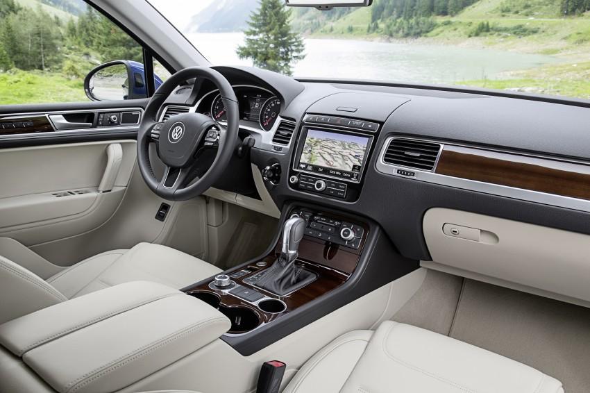 Volkswagen Touareg: second-gen facelift for Beijing Image #272231
