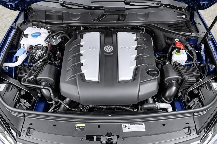 Volkswagen Touareg: second-gen facelift for Beijing Image #272234