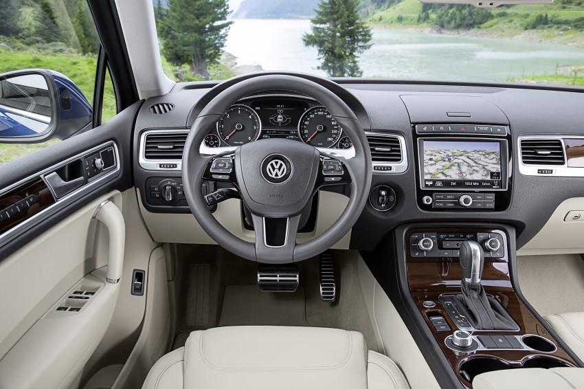 Volkswagen Touareg: second-gen facelift for Beijing Image #272238