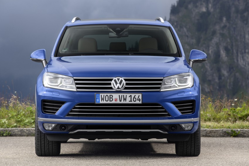 Volkswagen Touareg: second-gen facelift for Beijing Image #272239