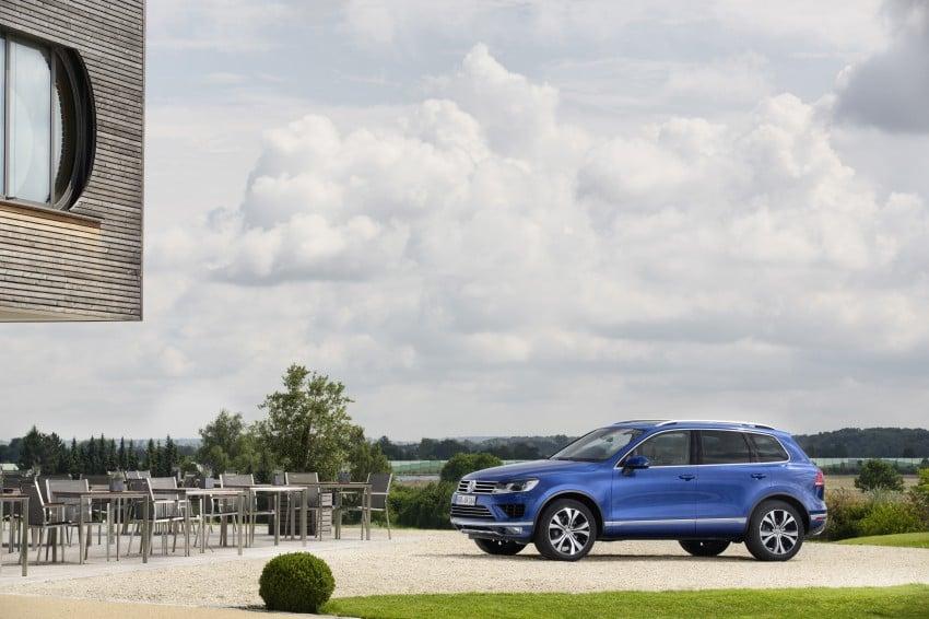 Volkswagen Touareg: second-gen facelift for Beijing Image #272241