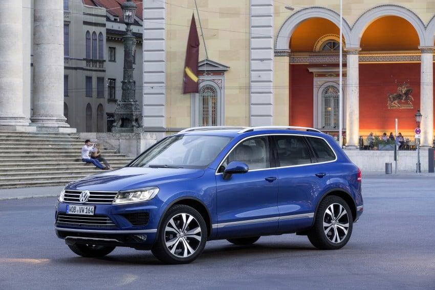 Volkswagen Touareg: second-gen facelift for Beijing Image #272242