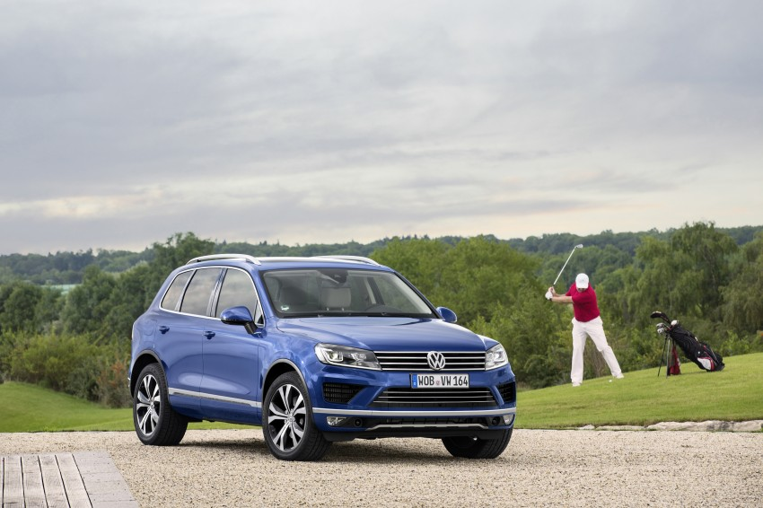 Volkswagen Touareg: second-gen facelift for Beijing Image #272243