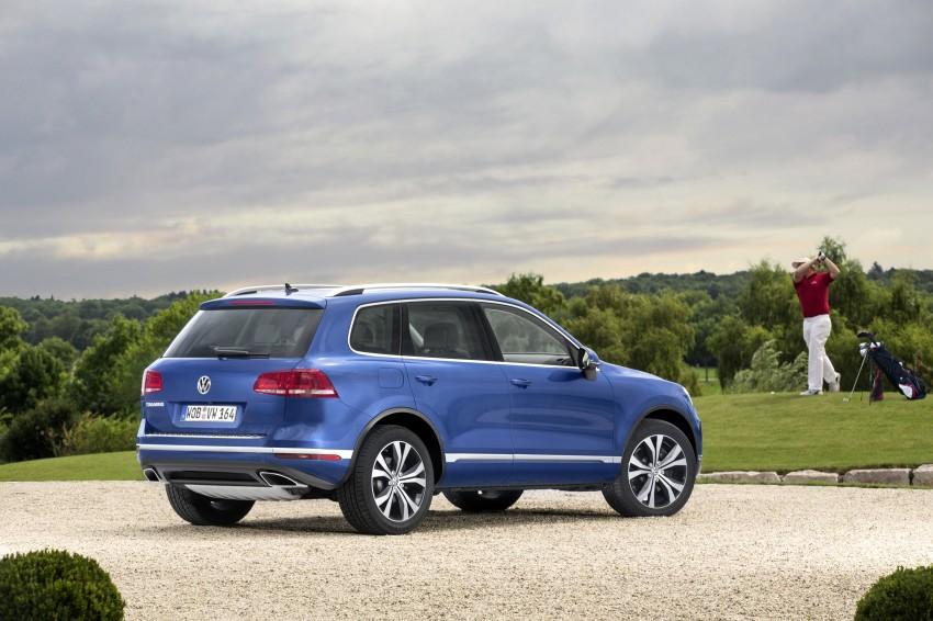 Volkswagen Touareg: second-gen facelift for Beijing Image #272245