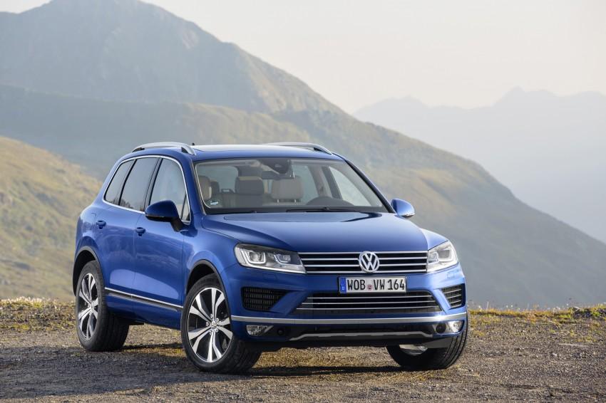 Volkswagen Touareg: second-gen facelift for Beijing Image #272246