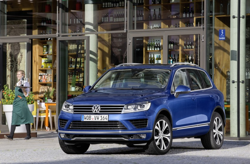 Volkswagen Touareg: second-gen facelift for Beijing Image #272247