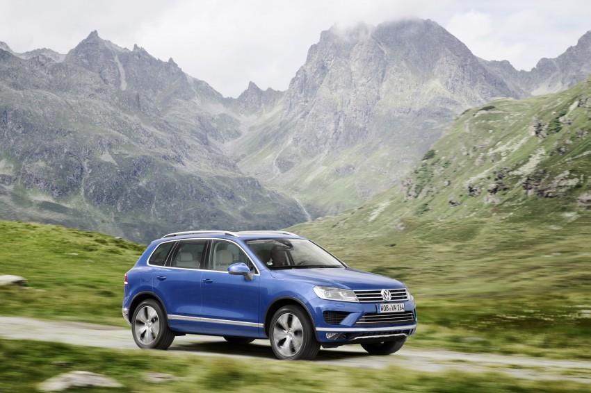 Volkswagen Touareg: second-gen facelift for Beijing Image #272248