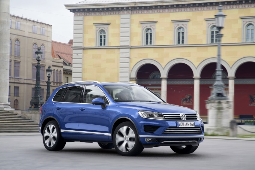 Volkswagen Touareg: second-gen facelift for Beijing Image #272249