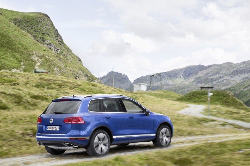 Volkswagen Touareg: second-gen facelift for Beijing Image #272250