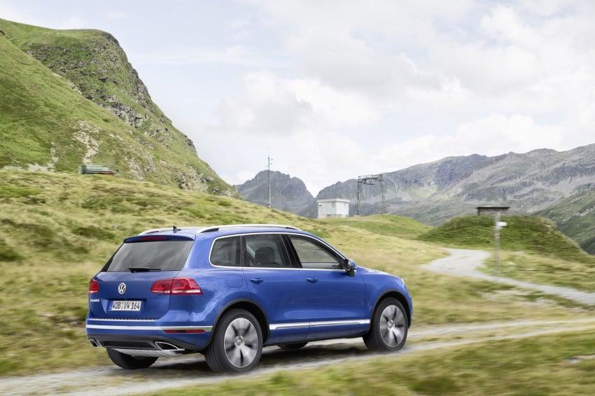 Volkswagen Touareg: second-gen facelift for Beijing Image #272250