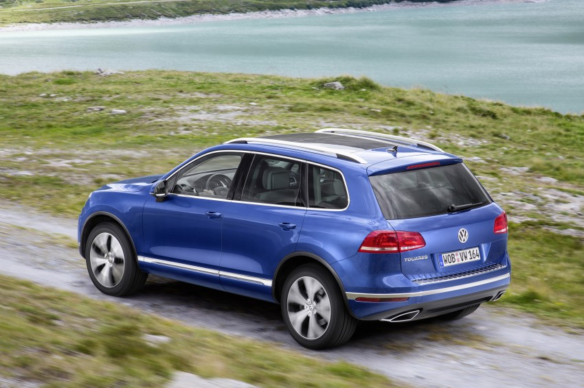 Volkswagen Touareg: second-gen facelift for Beijing Image #272251