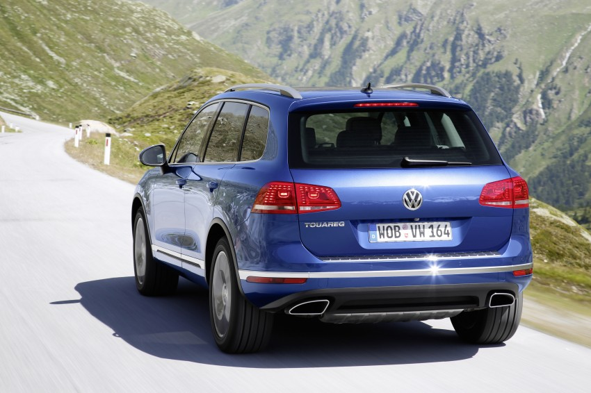 Volkswagen Touareg: second-gen facelift for Beijing Image #272253