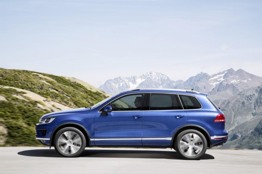 Volkswagen Touareg: second-gen facelift for Beijing Image #272254