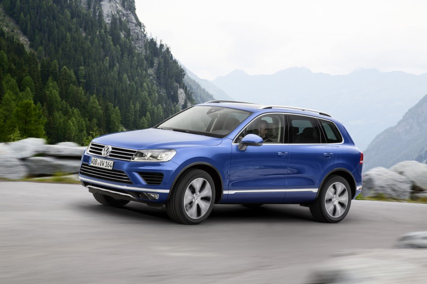 Volkswagen Touareg: second-gen facelift for Beijing Image #272255