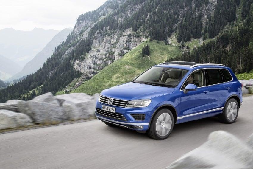 Volkswagen Touareg: second-gen facelift for Beijing Image #272256