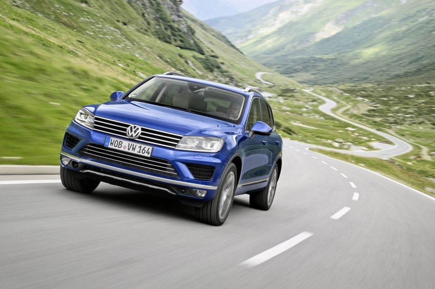 Volkswagen Touareg: second-gen facelift for Beijing Image #272259