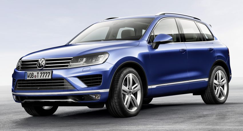 Volkswagen Touareg: second-gen facelift for Beijing Image #242101