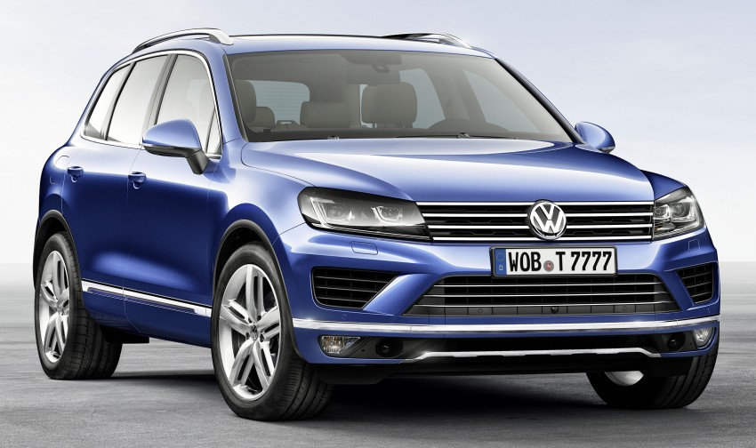 Volkswagen Touareg: second-gen facelift for Beijing Image #242103