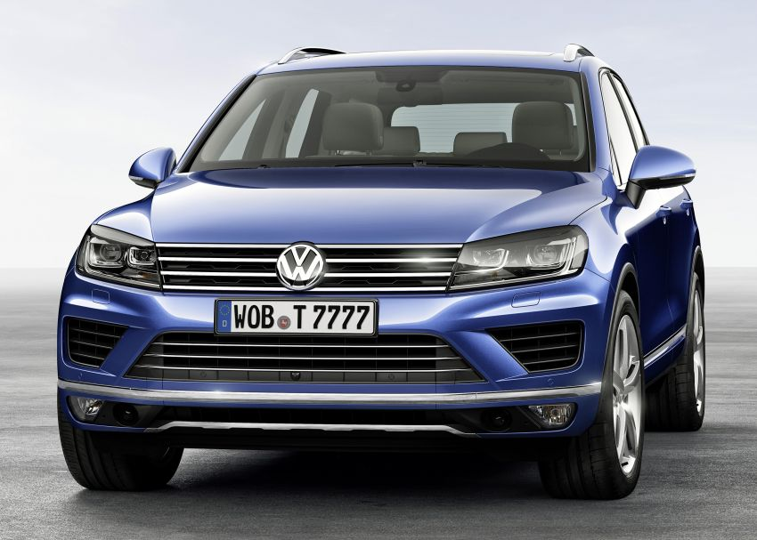 Volkswagen Touareg: second-gen facelift for Beijing Image #242104